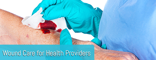 Wound Care for Health Providers page