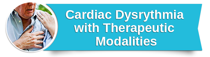 Cardiac Dysrythmia with Therapeutic Modalities small banner