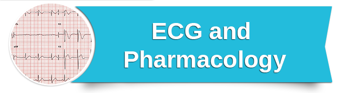 ECG and Pharmacology small banner