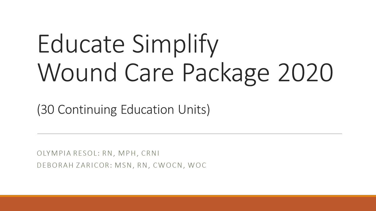 ES Wound Care Package 2020