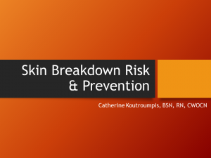 SkinBreakdownRisk&Prevention02-16-2020
